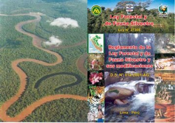 ley forestal y de fauna silvestre - FSC PERÚ