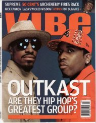profile of Kenneth 'Supreme' McGriff; Vibe Magazine ... - Ethan Brown