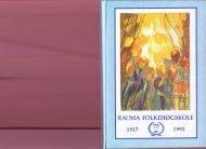 Rauma Folkehøgskole 75 år - NRI