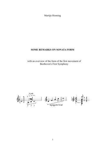 outline of sonata form in. Black Bedroom Furniture Sets. Home Design Ideas