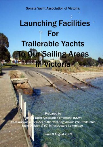 Launching Facilities For Trailerable Yachts To Our Sailing Areas In ...