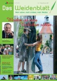 Das Weidenblatt - Stadt Weiden in der Oberpfalz
