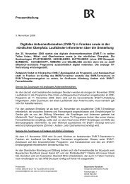 Digitales Antennenfernsehen (DVB-T) - Stadt Weiden in der Oberpfalz