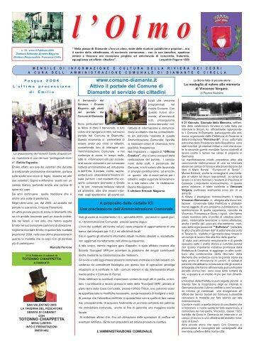 Olmo 78.pdf - Comune di Diamante