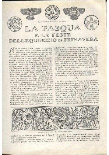 Le feste dell'equinozio di primavera - Cortebue.it