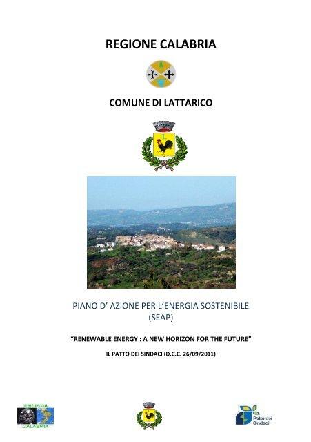 regione calabria comune di lattarico - Covenant of Mayors