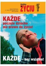 Służba Życiu - KAŻDE poczęte dziecko ma prawo do życia