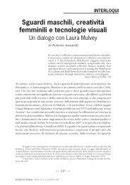 femminili e tecnologie visuali. Un dialogo con Laura Mulvey