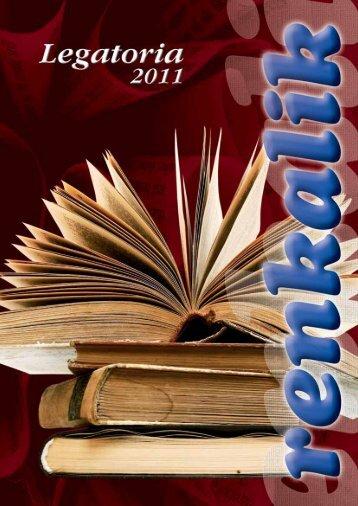 Catalogo Legatoria 2011 - Renkalik