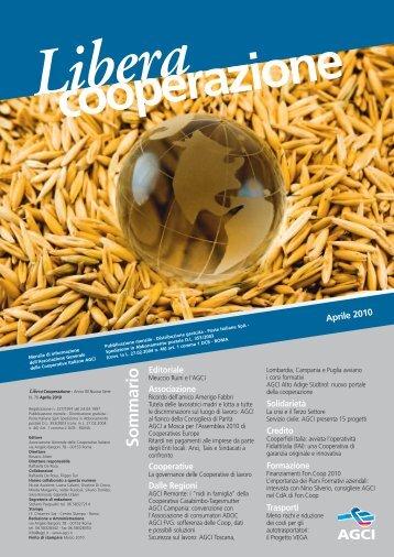 Libera Cooperazione Aprile N.76.pdf - Associazione Generale ...