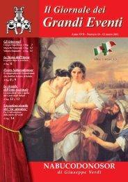 Nabucco - Il giornale dei Grandi Eventi