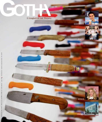 design interview party event - Gotha Magazine