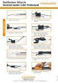 Sostituzione fettuccia Universal Garden Cutter Professional - Fiskars - Page 2