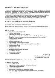 Programma di FILOSOFIA III liceo classico 2011/2012