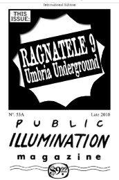 PIM Public Illumination Magazine The 19 issues ... - jeffrey isaac