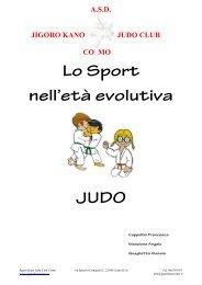 Lo Sport nell'età evolutiva JUDO - Jigoro Kano Judo Club Como
