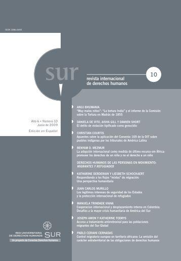 revista internacional de derechos humanos revista ... - Sur