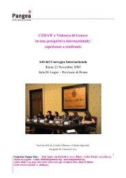 Scarica il pdf (Pdf 2 Mb) - Fondazione Pangea Onlus