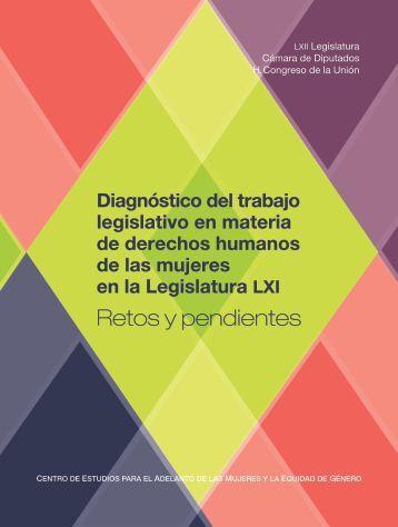 Diagnóstico del trabajo legislativo en materia de derechos humanos ...