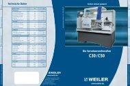 C30/ C50 - Weiler Werkzeugmaschinen GmbH