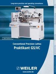 Praktikant GS/VC - Weiler Werkzeugmaschinen GmbH