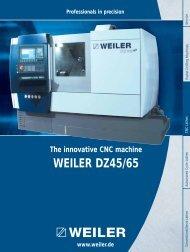 WEILER DZ45/65: An ergonomic innovation