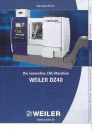Page 1 ine -Masch LER DZ40 er.de TI..Y @WEILER innovative CNC ...