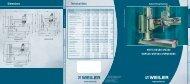 Radial Drilling Machines - Weiler Werkzeugmaschinen GmbH