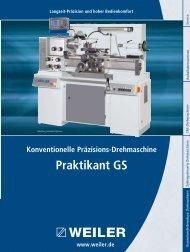 Praktikant GS - Weiler Werkzeugmaschinen GmbH