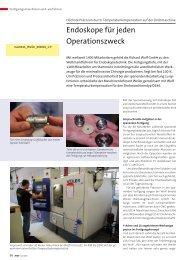 Endoskope für jeden Operationszweck - Weiler ...