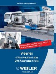 V-Series - Weiler Werkzeugmaschinen GmbH
