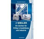 Die E-Reihe - Weiler Werkzeugmaschinen GmbH