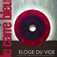 ELOGE DU VIDE - Le Carré Bleu