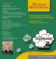 zum Flyer - Wasserburg am Inn!