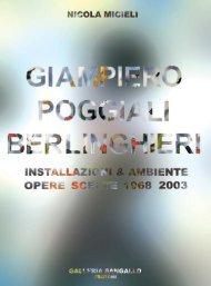 Opere 1968-2003 - ArteStudio53