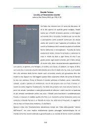 Davide Tarizzo La vita, un'invenzione recente - Scienzaefilosofia.It