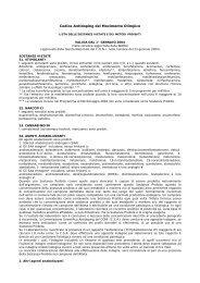Codice Antidoping del Movimento Olimpico - FITArco