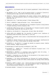 BIBLIOGRAFIA - LESIONI CUTANEE CRONICHE