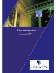 nota integrativa del bilancio chiuso il 31/12/2010 - Acri