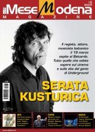 Il regista, attore, musicista balcanico il 19 marzo ospite al ... - Ilmese.it