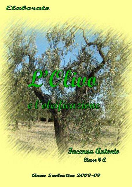 Calendario Trattamenti Olivo Puglia.Tesina Olivo Facenna Con Copertina Itas Di Sangro E Itg