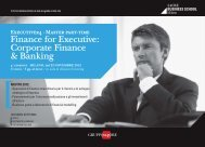 Finance for Executive: Corporate Finance & Banking - Valerie Ryder