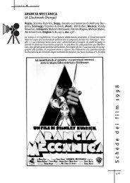 Arancia meccanica - Cinema e scuola