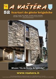www.vastera.it 52 šcartari de gènte brigašche - A Vastera