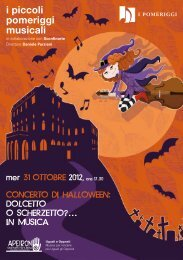 Lo Scherzo - I Piccoli Pomeriggi Musicali