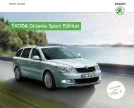 ÅÅKODA Octavia Sport Edition