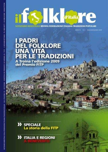 Maggio-Giugno 2009 - Federazione Italiana Tradizioni Popolari