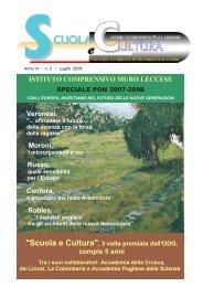 Scuola e Cultura - Luglio 2008 - scuola e cultura - rivista
