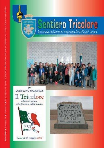 N° 3 Anno XV (LV) ~ Giugno/Luglio/Agosto 2007 - Unione ...
