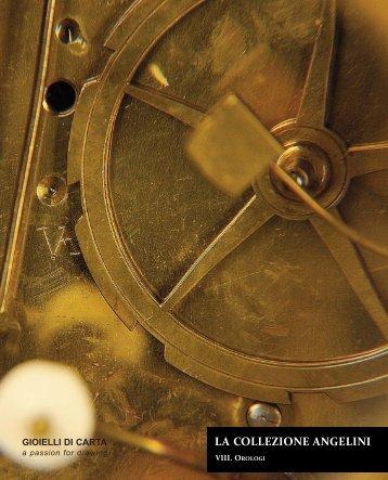 Volume VIII - Orologi - Gioielli di Carta